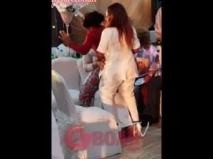 "Video: Faithia Balogun, Mide Martins and Iyabo Ojo Dances ""ONE CORNER"" At Mercy Aigbe"